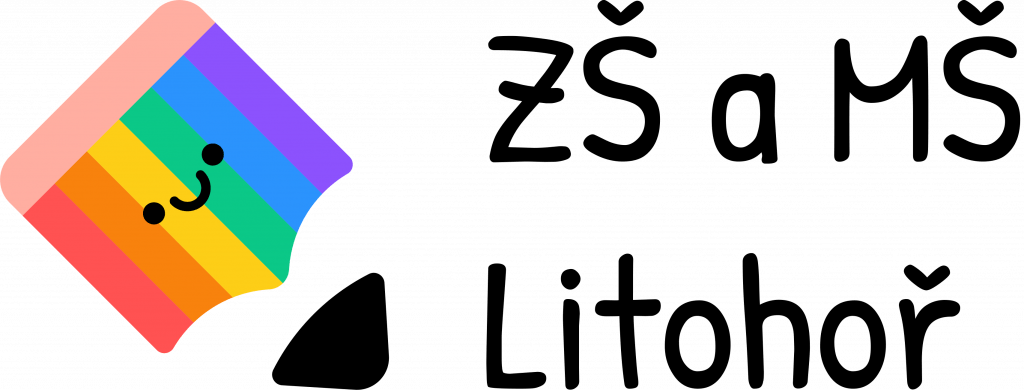 Logo ZŠ a MŠ Litohoř
